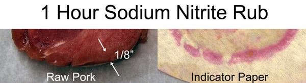 raw meat nitrite rub