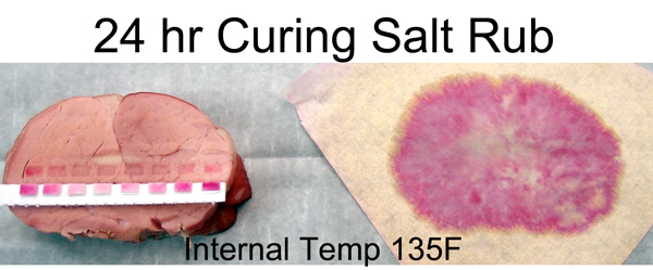 24 hr curing salt on pork profile