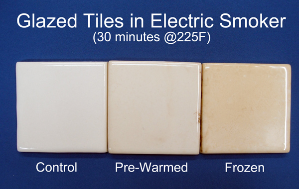 glazed tiles smoked