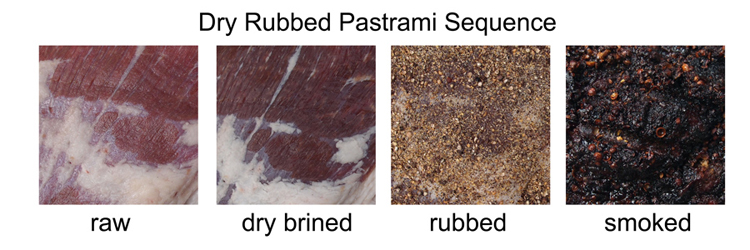 pastrami dry brine sequence