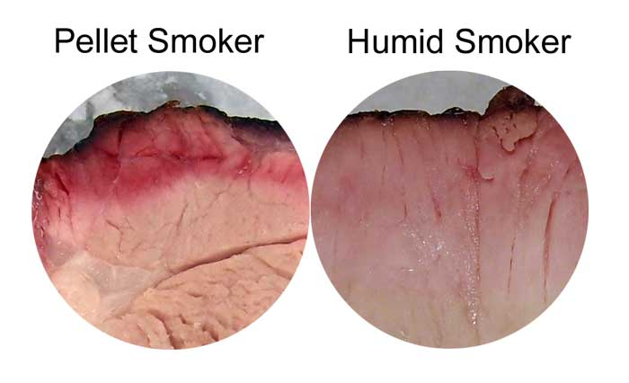 smoke ring vs humidity